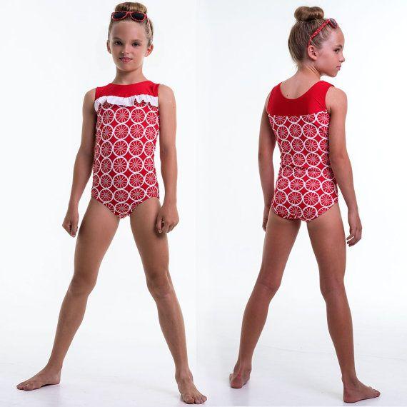 Girls leotard pattern PDF ballet leotard pattern gymnastics