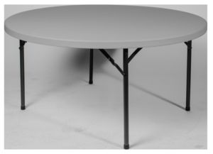 Blow Molded Round Folding Tables