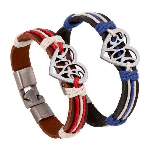 "Парные браслеты ""Крепкое сердце""  Twin bracelets ""Strong heart"""