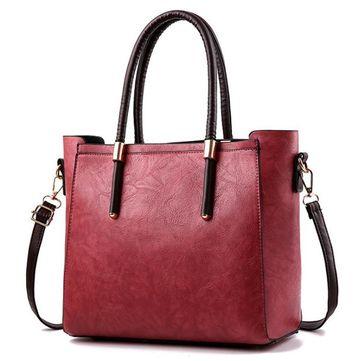 Hot-sale designer Retro Women Messenger Bag Fashion Large Capacity PU Leather Ladies Handbag Online - NewChic Mobile