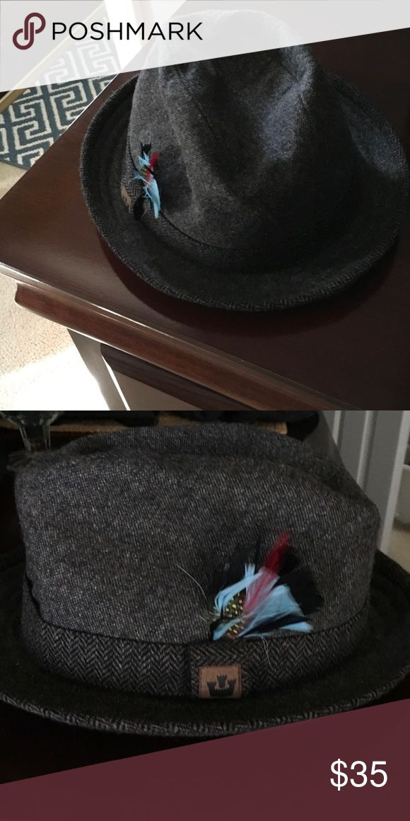 Men's hat Men's hat made in UK and made of lambs wool Moon Collection Accessories Hats