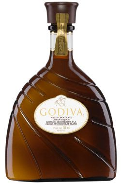 Godiva white chocolate liqueur. My favorite! GREAT in your morning coffee!  They sell sample sizes  for $4.00.  It also comes in chocolate