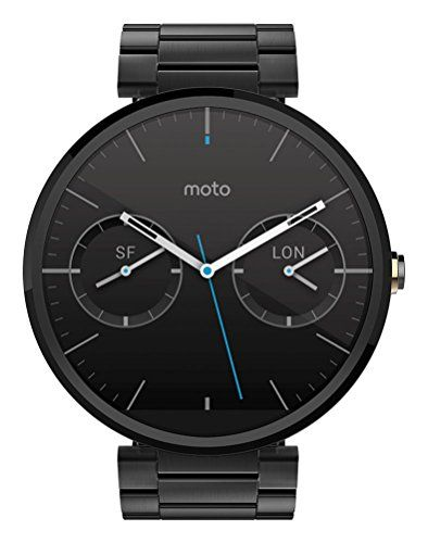 Sale Preis: Motorola Moto 360 Metal Edition Dark-Finish Smartwatch (Metal Band, 23 mm). Gutscheine & Coole Geschenke für Frauen, Männer und Freunde. Kaufen bei http://coolegeschenkideen.de/motorola-moto-360-metal-edition-dark-finish-smartwatch-metal-band-23-mm