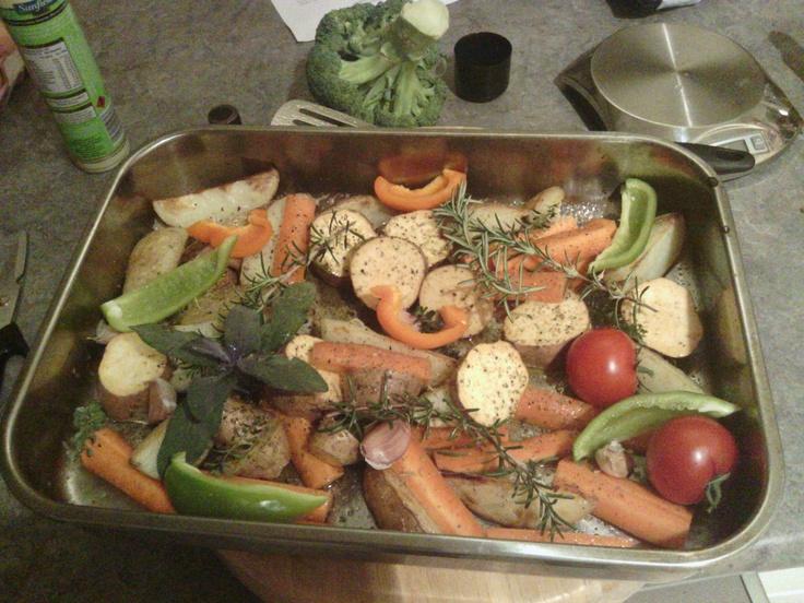 Roast for dinner