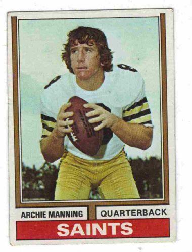 Archie Manning - New Orleans Saints