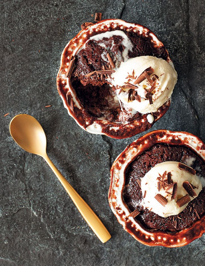 We've taken two classics, chocolate and malva pudding, and created this irresistible dessert! Click here for Patricia Wood's malva pudding recipe.