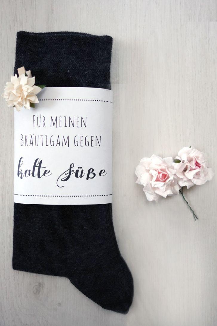 Die Survival/Notfall-Box für den Bräutigam Banderole für kalte Füße Bild 2 – Ideen für's heiraten ❤