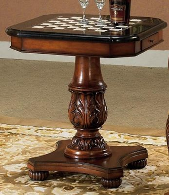 Com Legion Marble Chess Game Table