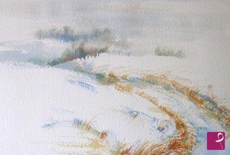 paesaggio  invernale  di Natalia Khromykh