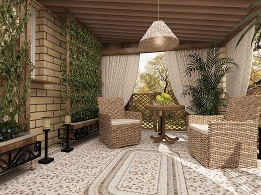 дизайн веранды дома - Поиск в Google