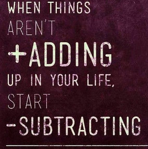 """""""When things aren't adding up in your life, start ..."""