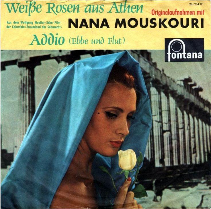 nana mouskouri weiße rosen aus athen 1961