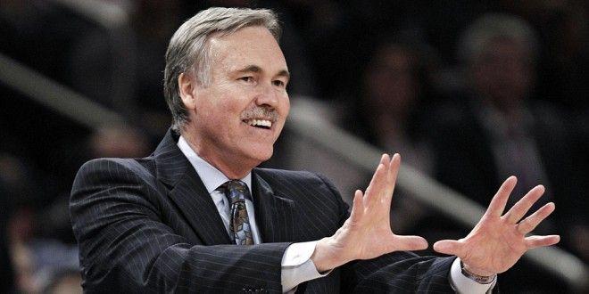 Mike D'Antoni, l'allenatore della Benetton Basket Treviso degli anni d'oro.