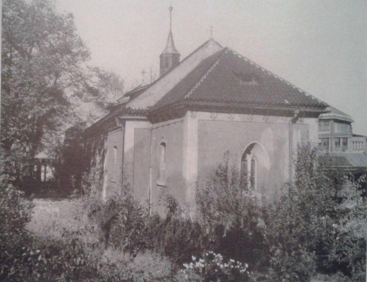 kostel sv. Jana Křtitele, od 50. let 20. stol. je využíván pravoslavnou církví.  FB: Irena Vladařová