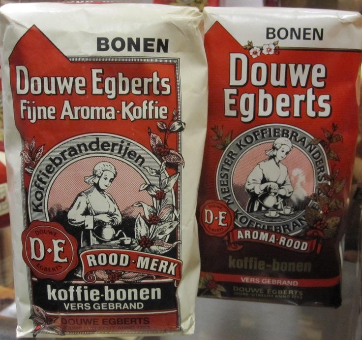 Douwe Egberts packaging