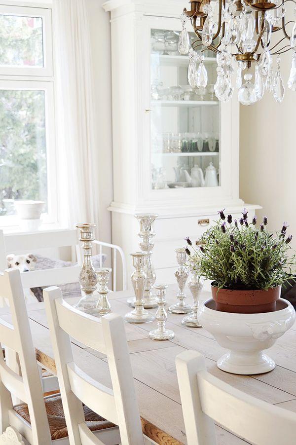 White Shabby Chic Living from Norway - Heart Handmade uk