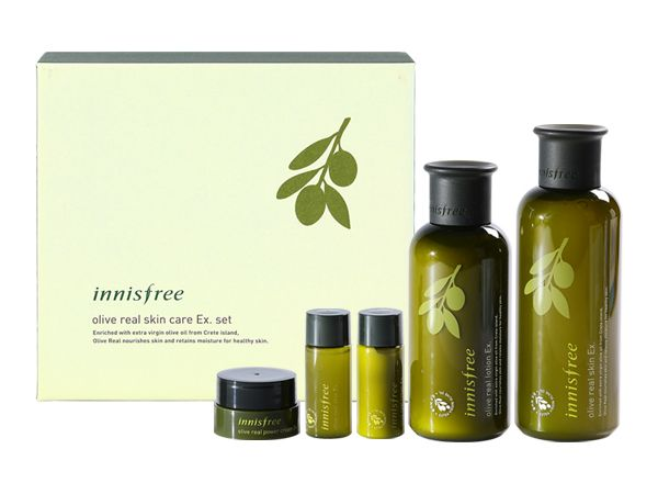 Innisfree Olive Real Special Care Ex Set Innisfree Olive Olive Skin