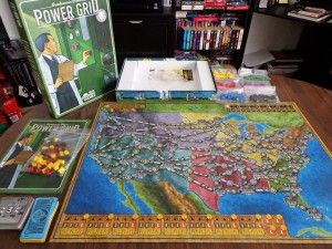 Power Grid - fun and strategic.