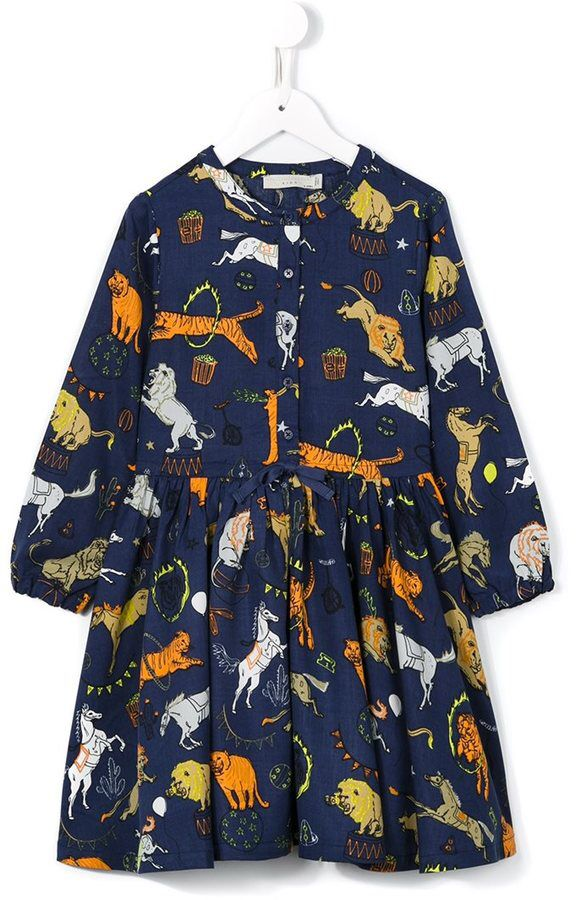 Stella Mccartney Kids 'Fleur' dress