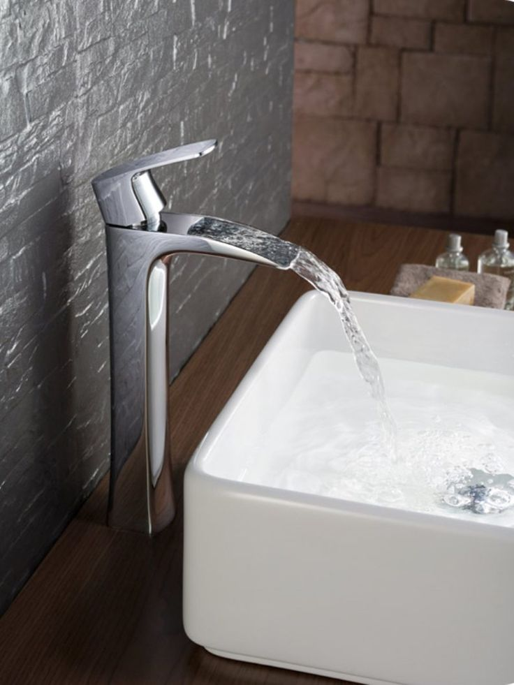 Modern Bathroom Single Hole Vessel Faucet Bathroom Using Vessel Faucet Check more at http://www.wearefound.com/bathroom-using-vessel-faucet/