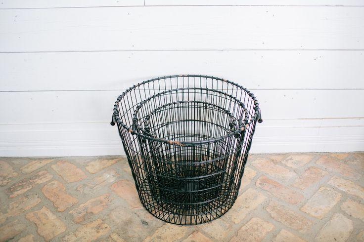 Black Laundry Basket | The Magnolia Market