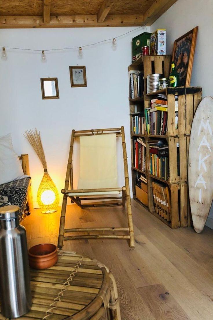DIY-Regal im Wohnzimmer in 2020   Diy regal, Regal, Wohnzimmer