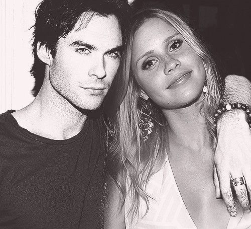 Ian Somerhalder and Claire Holt