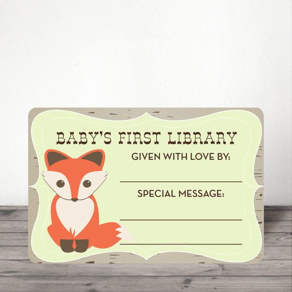 Instant Download  Woodland Baby Shower Book by CreativeUnionDesign