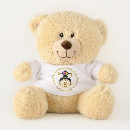 Birthday Souvenir-Chn Female H 鮑 鮑 T. Bear (Small) - kids kid child gift idea diy personalize design