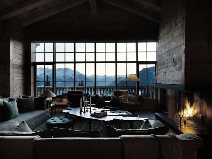 Livingroom inspiration, the alps.