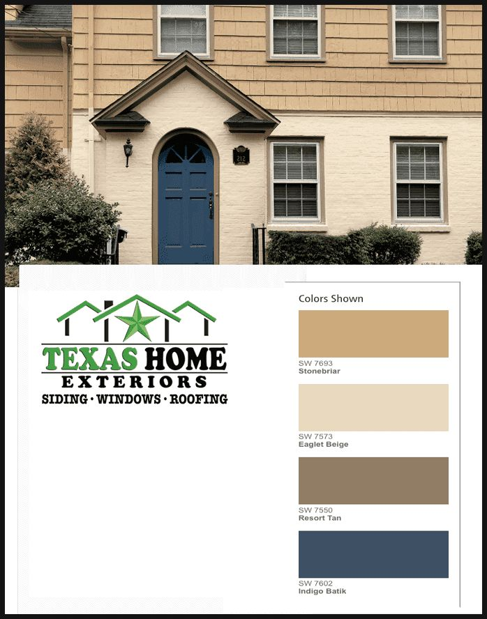 Paint Colors Options Combinations Texas Home