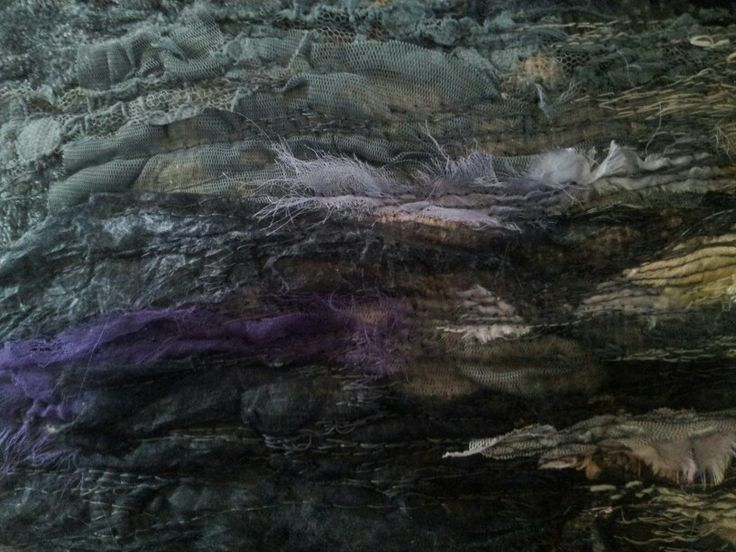 Laura Edgar #textile art  section