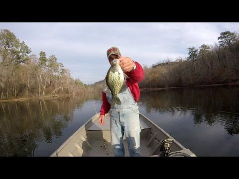 Crappie Fishing With A Jig - YouTube