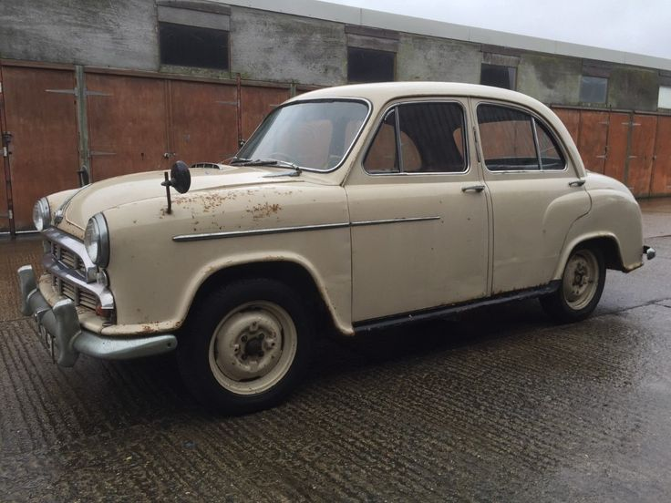 1955 Morris Oxford with cherished/private number plate. Restoration project. | eBay