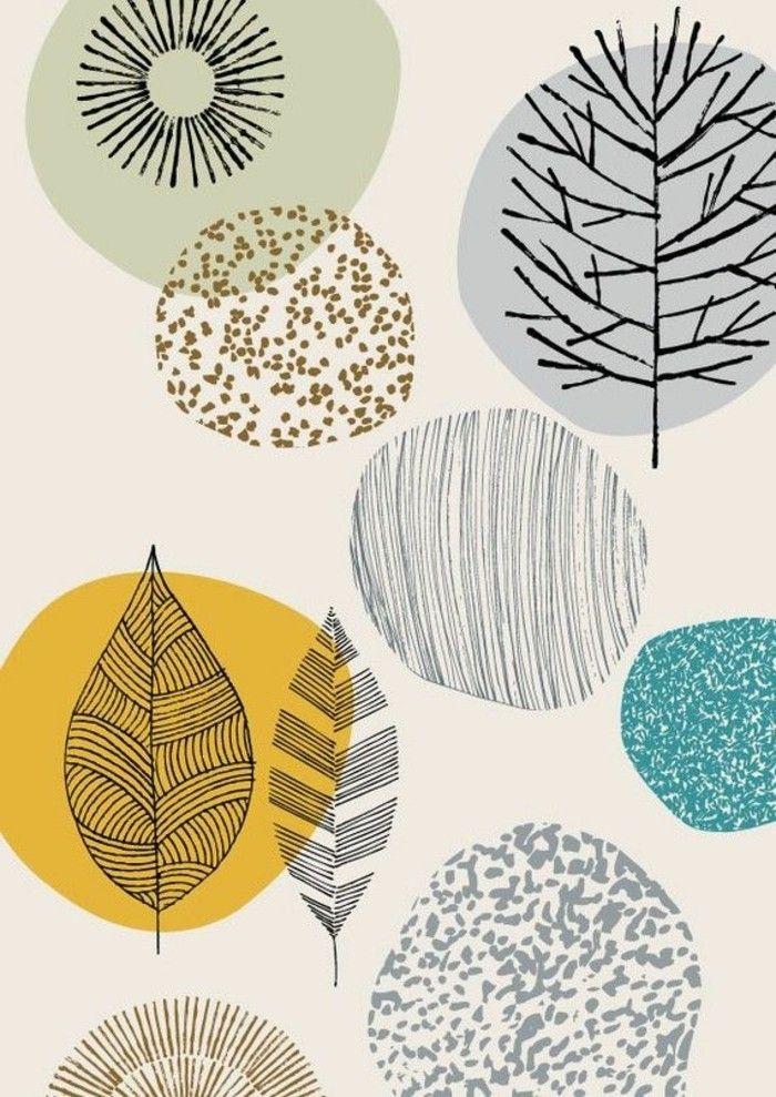 80 Atemberaubende Modelle Ausgefallene Tapeten Archzine Net Ausgefallene Tapeten Musterkunst Stoffdruck