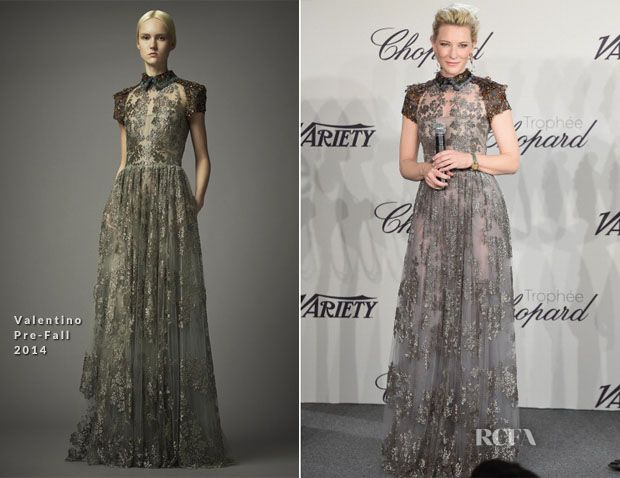 Cate Blanchett In Valentino – Trophée Chopard...during 67th Annual Cannes Film Festival 2014 Day 2