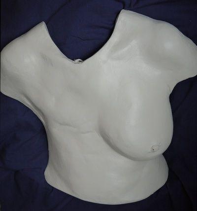 BraveArt - body cast breast cancer survivors