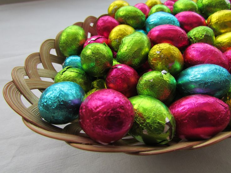 Egg Basket - Another easter themed photo from our spring album, this photo has bright colours from eggs, the eggs represent new life.