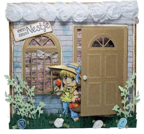 Joy Crafts Präge- und Stanzschablone TÜR - 6002/0196 Home Sweet Home - Metal Die | eBay
