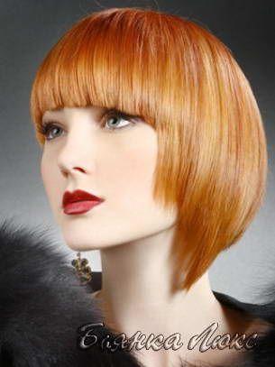 Стрижки и прически для тонких волос 041