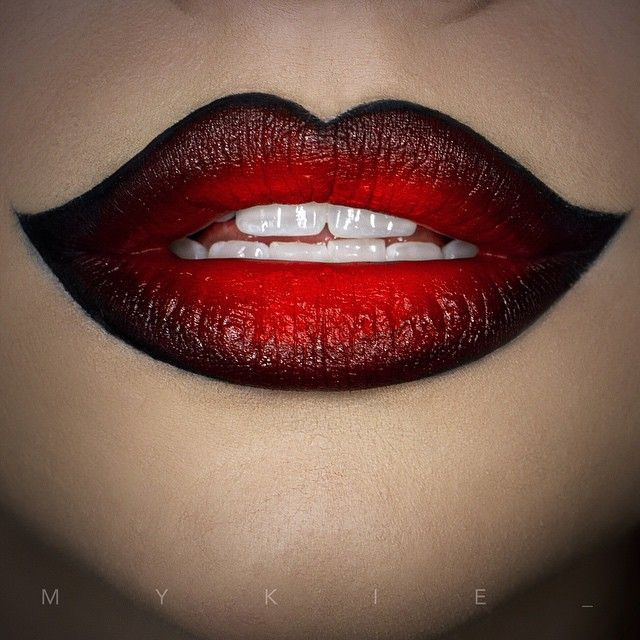 Killer lips.tutorials so it's super quick & only has a couple steps. I'm going to do a video on ombré lips sometime too so don't worry if that's a part of this look that you want to learn! Subscribe to the Glam&Gore channel to get updates as soon as I upload! The link for this video will be in my bio later tonight!