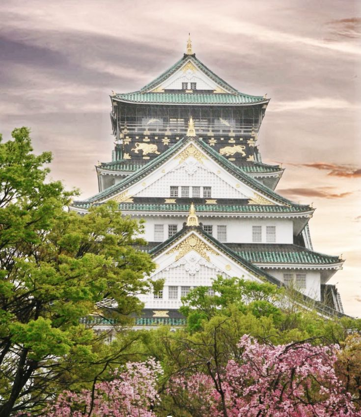Osaka Castle #Travel #Japan #osaka #osakacastle #…