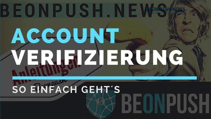 Beonpush Account verifizieren - Beonpush Anleitung Deutsch http://youtu.be/WiISOk28UdY