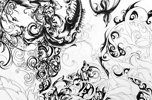 Design: White Baroque, Images Results, Black And White, Baroque Patterns, Google Images, Baroque Design, Baroque Styles, Swirls Backgrounds, Baroque Bar
