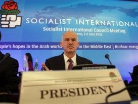 Ο Ανάρχας τση  Ζάκυθος: Δήλωση Προέδρου Σοσιαλιστικής Διεθνούς,