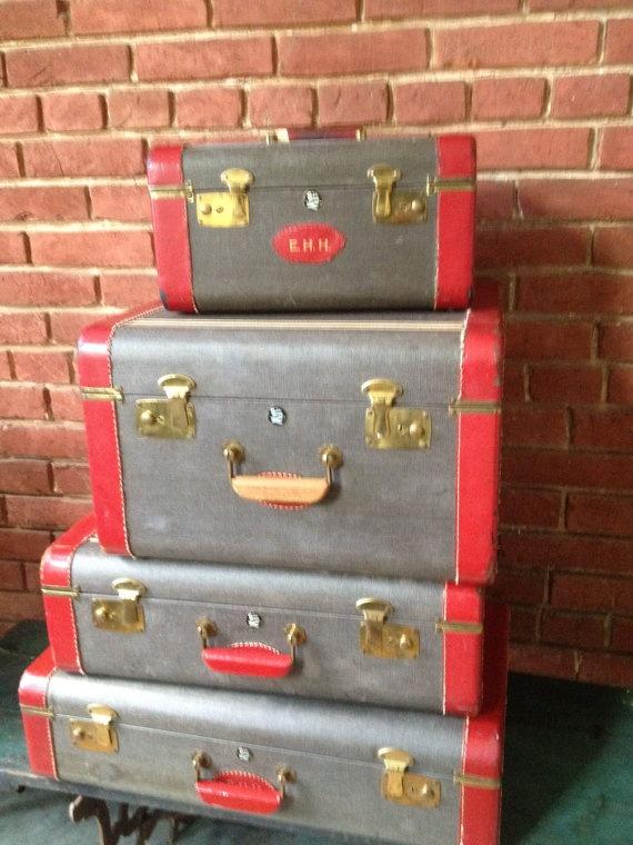 215 best TRUNKS & LUGGAGE images on Pinterest | Vintage luggage ...