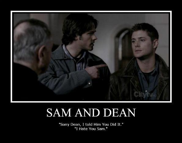 do sam and dean meet god