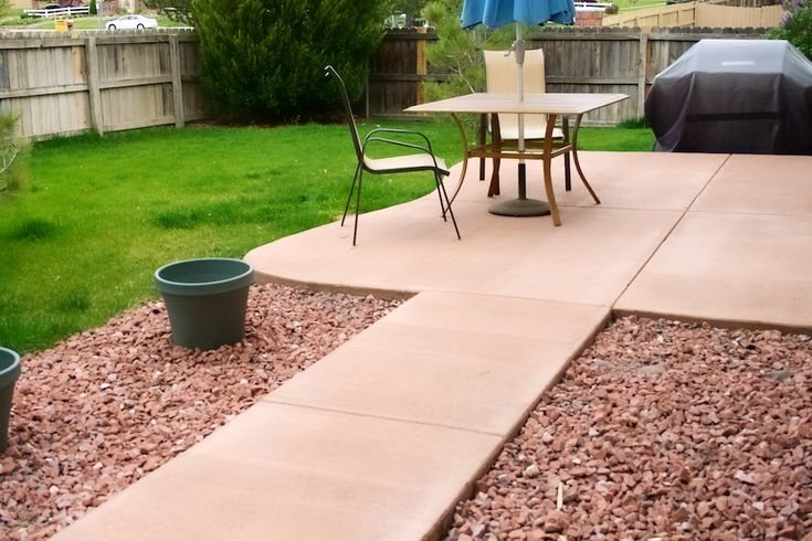 Best 25+ Colored concrete patio ideas on Pinterest
