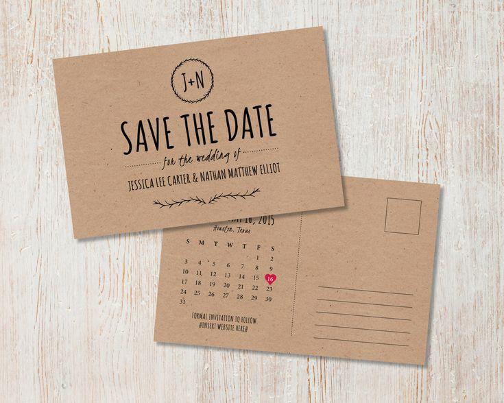Diy save the dates in Brisbane