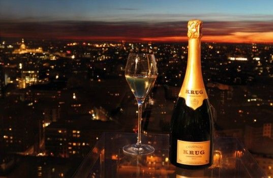 Le champagne Krug est mis à l'honneur !